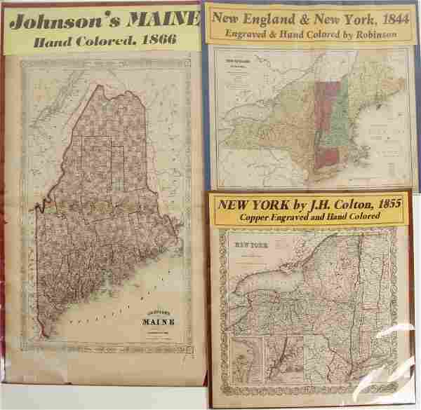Maps of New England & New York 72012