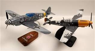 German ME109's Model Airplanes (2) 108897
