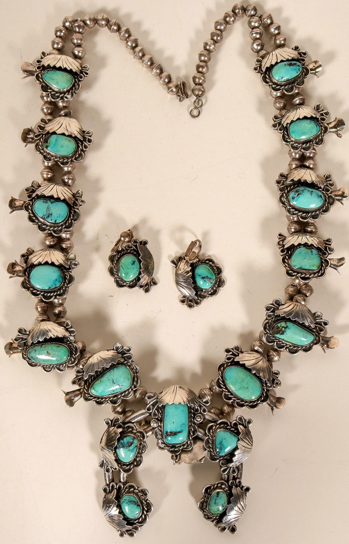 Vintage Navajo Jewelry Set  #109770