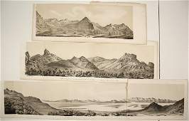 Salt Lake City Lithographs, Stansbury Expedition