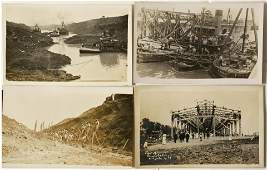 Panama Canal Construction Real Photo Postcards #58596