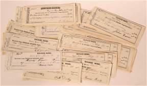 Savage Mine Pay Receipts (50+) #110680