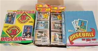 Topps & Bowman 1989 Baseball Card Boxes #110569
