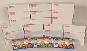24 Sets of 1990 Score NHL Hockey Cards, Unopened and
