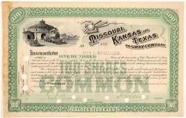 Missouri, Kansas and Texas Railway Co. #102424