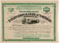International & Great Northern Railroad Co #103211