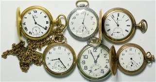 Elgin Pocket Watch Group  (114290)