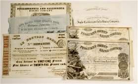 California Gold Rush Stock Collection 7  79962