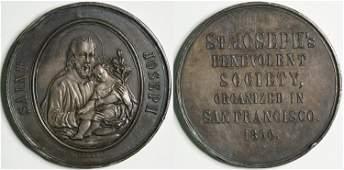 St Josephs Benevolent Society Medal  114095