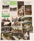 Famous Early Northern California Resorts 2 Brochures