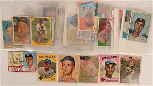 Autographed Vintage Baseball Cards (114940)