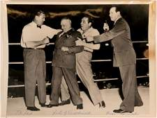 Boxing Photo feat. Jack Dempsey, Max Baer & Others