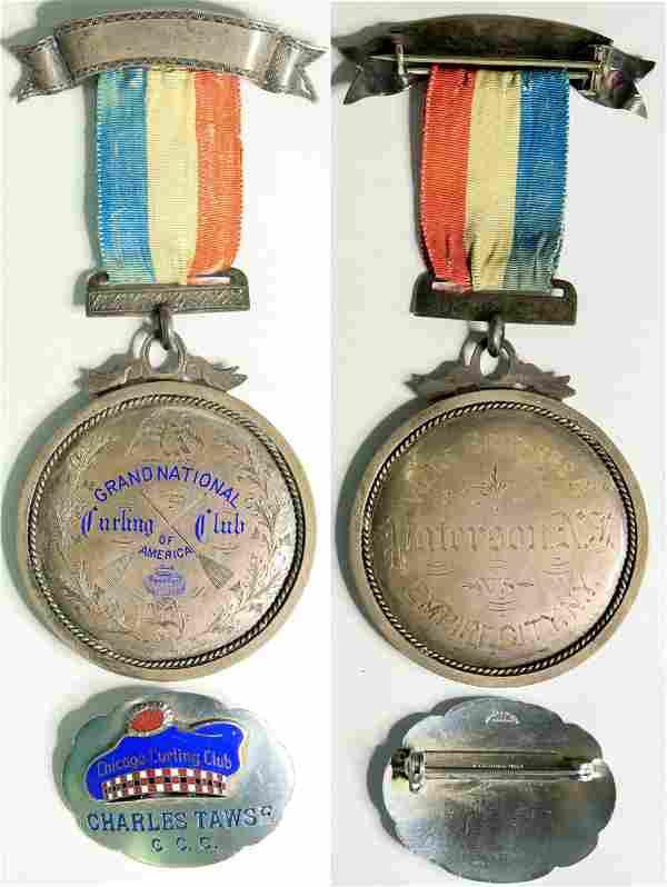 Curling medals (109015)