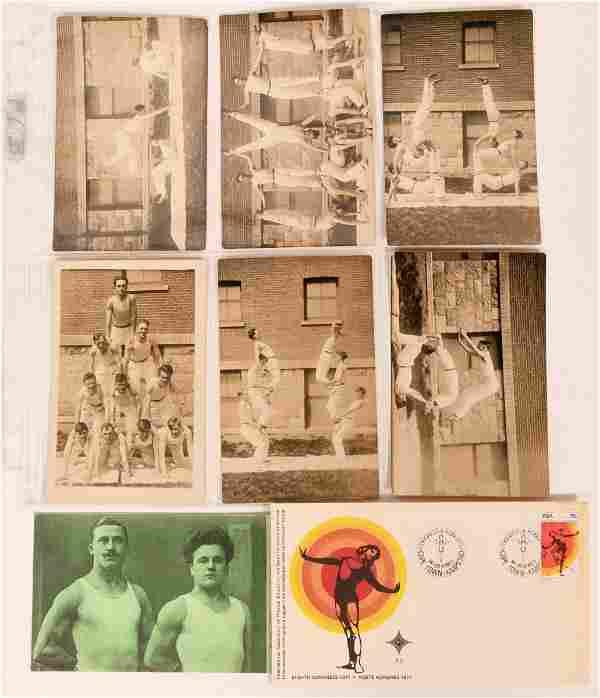 Gymnastics Postcards RPCs (8) (116460)
