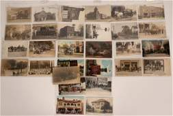Fire Department Postcard Collection (Most RPPC)