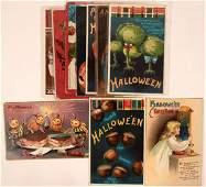 Nice Group of Halloween Postcards Includes Ellen