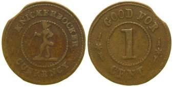 Knickerbocker Currency Token (101963)