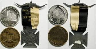 Remember The Alamo Medals  114319
