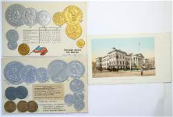 Coins of the US Post Cards  114740