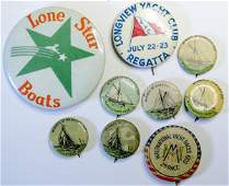 Sailing Pinback Button Collection (114811)