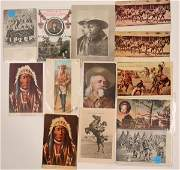 Buffalo Bill & Wild Bill Postcards  (113109)