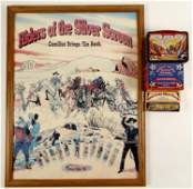 Riders of the Silver Screen Poster, Knife, Collector