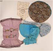 Historical Ladies Bonnets etc  115661