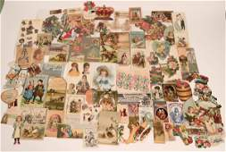 Large Group of Trade Cards & Early Advertising Ephemera