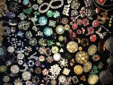Vintage Designer Costume Jewelry Leftovers Grab Bag