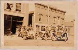 Lewiston Idaho, Fire Depot, Real Photo Postcard