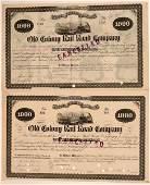 Old Colony Railroad Co. bonds (110839)