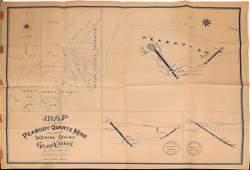 Peabody Quartz Mine and Adjacent Claims Original Survey