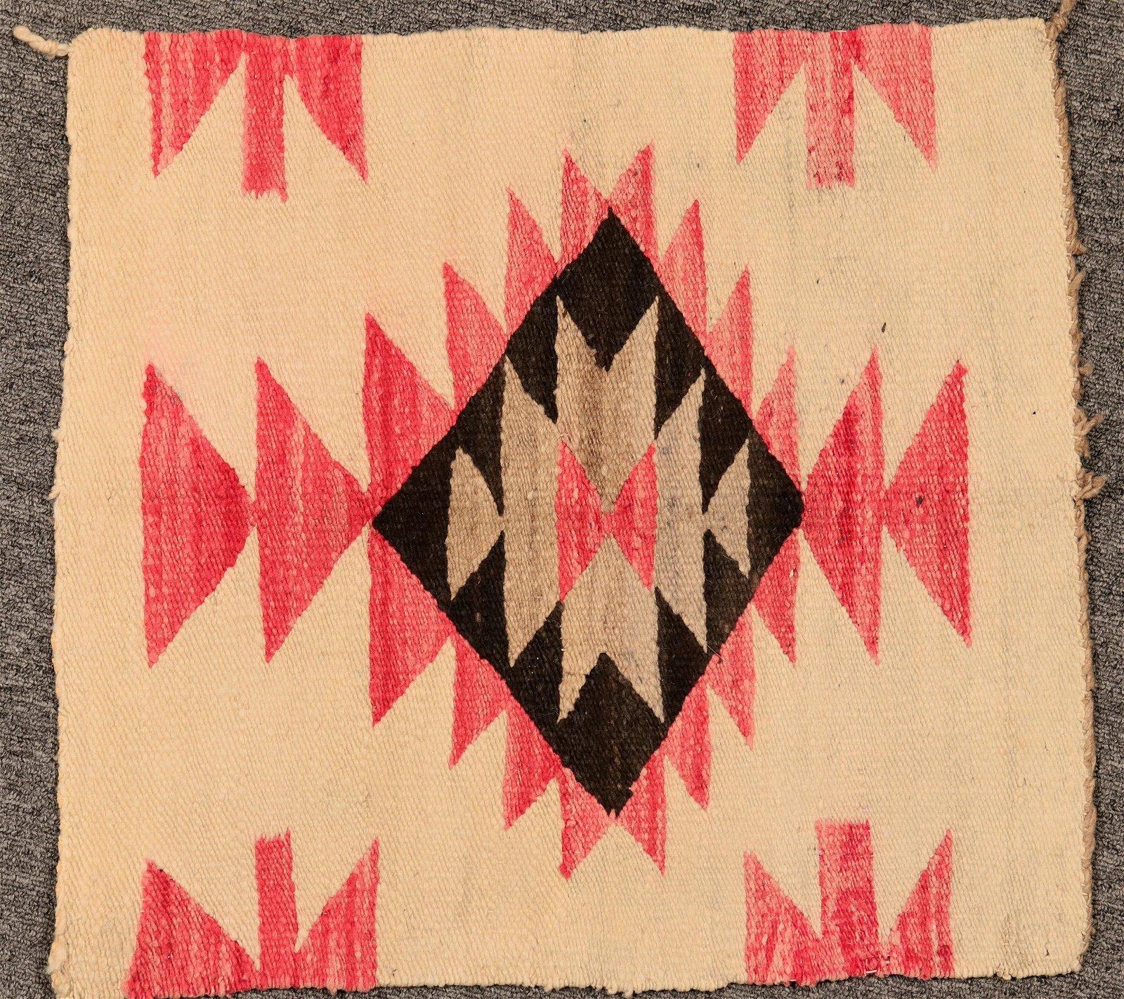 Vintage Navajo Saddle Blanket  (119192)