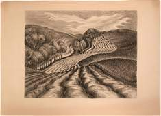 Ploughed Fields by Wanda Gag American Artists Group