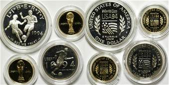 1994 Proof World Cup SilverGold Commemorative Coin