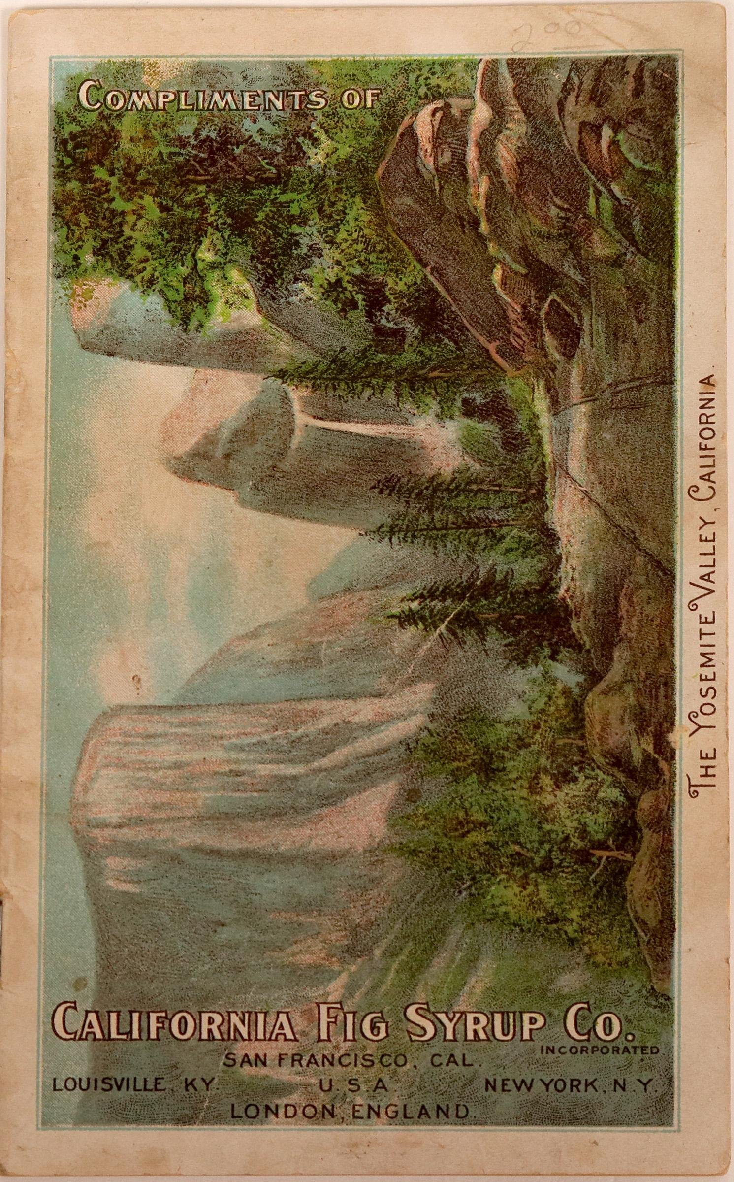 Booklet on the  California Fig Syrup Co.   (117279)