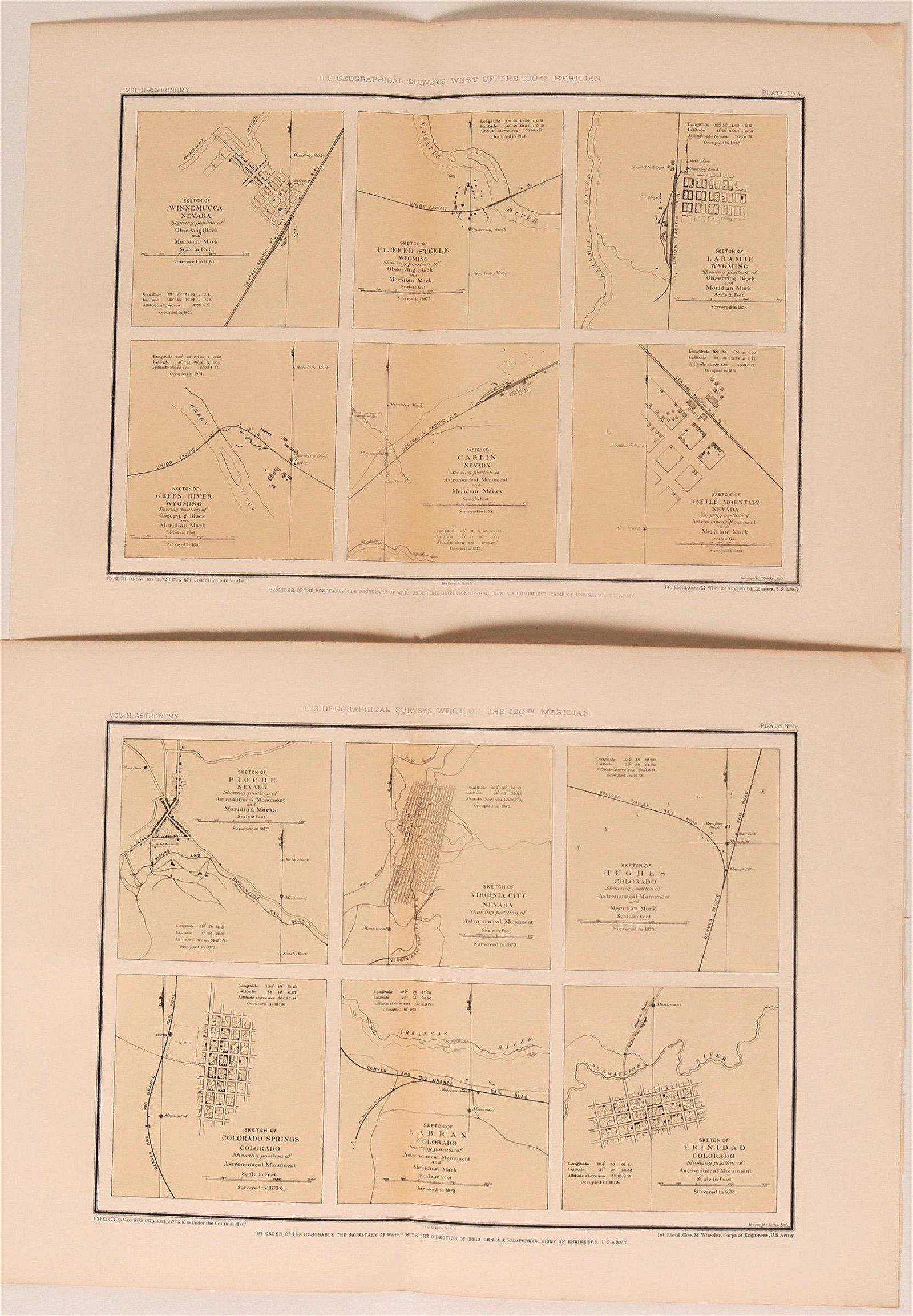 Wheeler Astronomical Surveys of Nevada (and Wyoming &