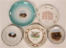 Western Souvenir Plates (119548)