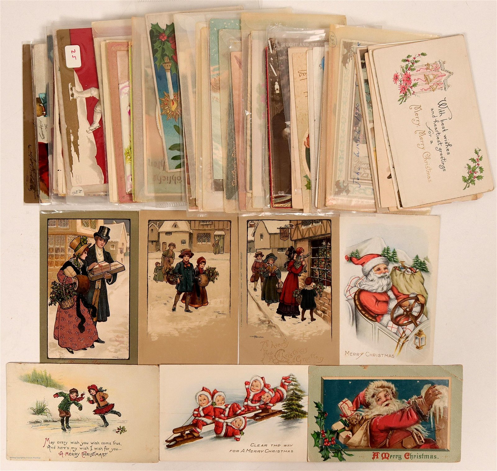 Massive Christmas Grouping Including Clapsaddle's &