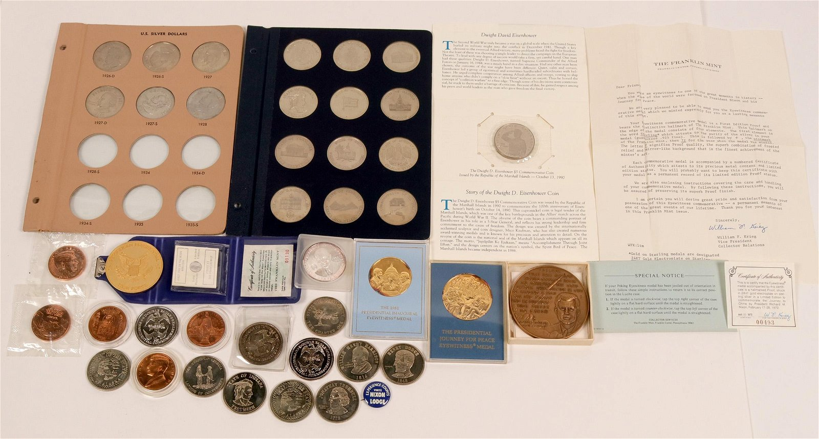 Patriotic Medal Collection  (117682)
