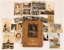 WWII Archive Photographs, Papers and Postcards and