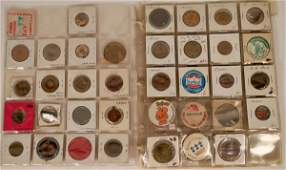 Grocery Store Brand Foods Tokens Medals  Pinbacks