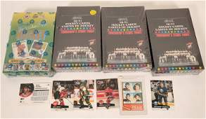 Three Sealed Boxes of Ontario Hockey League Collector's
