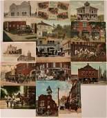 Fire Departments Postcards (15) (118495)