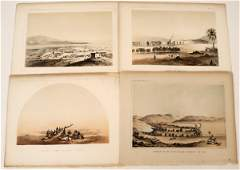 Southern California Lithographs from an Early Railroad