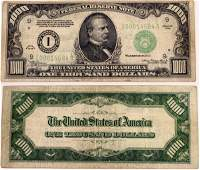 $1000 Federal Reserve Note  (124132)