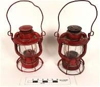 New York Embossed Railroad Lanterns (2) (125237)
