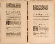The Rambler, 1750, Two Issues (124644)