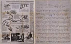 Lettersheet - Hutchings California Scenes - Method of