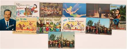 Walt Disney and his Entourage (Mickey Mouse, Donald